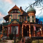The Andrew J. Warner House in Ogden, Utah is a classic Queen Anne Victorian