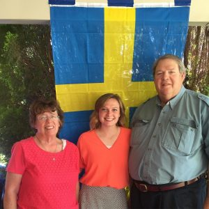 My parents with my daughter just before she left to serve an LDS mission to Sweden.