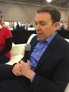 Bruce Feiler at our interview at RootsTech 2016.