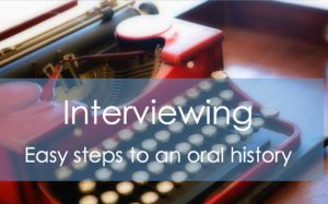 Get our interviewing tutorial - printable PDF