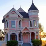The Pink Lady in Eureka, California, designed by Newsom & Newsom