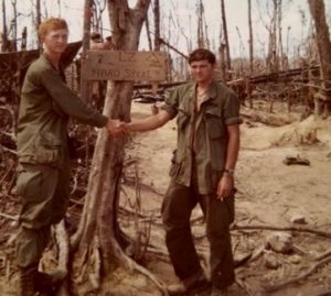 Why celebrate Veteran Day? To honor those who have never been thanked. Soldier serving in Vietnam shown here.
