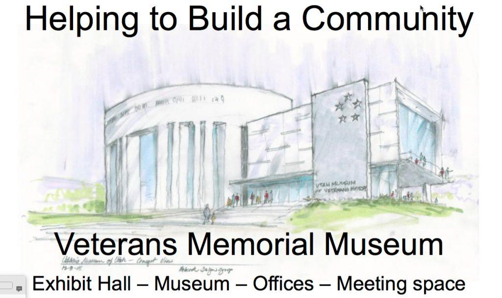 Utah Veteran Hall Concept Drawing