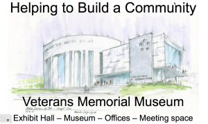 Utah Veterans Memorial Hall Concept Drawing