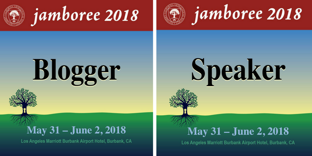 We, at www.Evalogue.Life - Tell Your Story, are thrilled to be bloggers and speakers at the 2018 Southern California Genealogy Jamboree! May 31-June 2, 2018