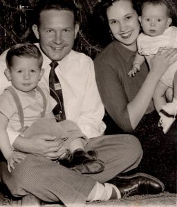 Gaye and Hartley Anderson family circa 1952 (Evalogue.Life founder's parents)