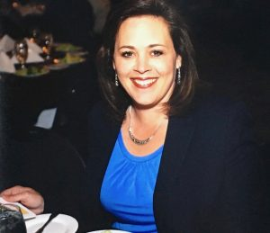 Becky Lockhart at a political dinner