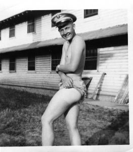 Evalouge.Life founder Rhonda Lauritzen's dad, Hartley Anderson