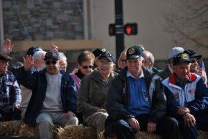 Veteran parade, Ogden Utah. Photo credit Milan Lauritzen.