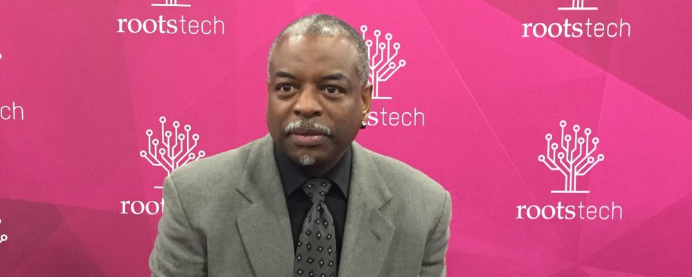 LeVar Burton wired for story