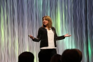 Liz Wiseman, author Rookie Smarts. Photo Credit RootsTech