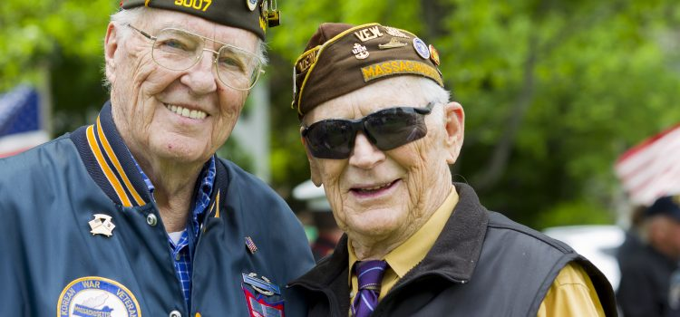 Take the time to attend a Utah Veterans Day event this year like this one with Veterans of World War II