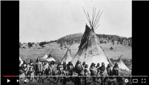 Shoshone tribe as described in my grandfather's voice