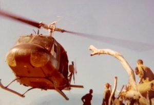 No Vietnam Veteran Story story would be complete without a Huey