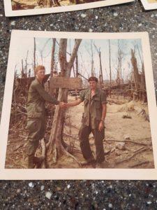 Vietnam Veteran Story of Steve Hoellein, a Purple Heart recipient, pictured here while serving in Vietnam