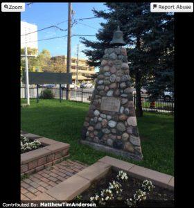L'Amoraux obelisk near Toronto, Ontario Canada