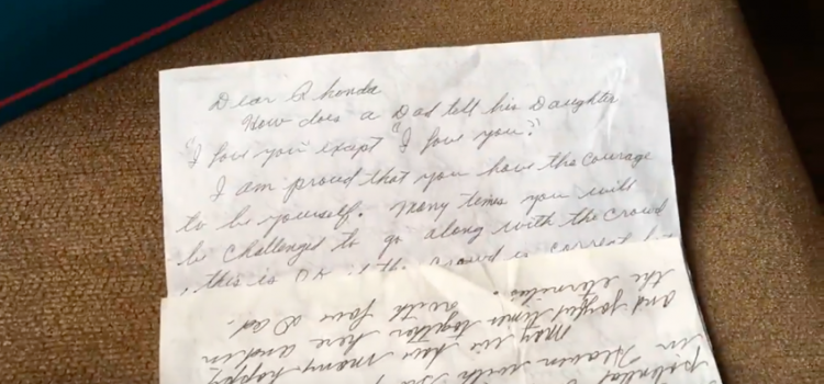 A Letter from Dad 9 Years After his Death
