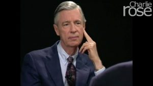 Mr. Rogers interviewed by Charlie Rose