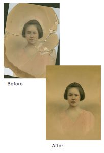 photo restoration example
