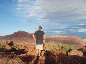 My husband photographs a national park
