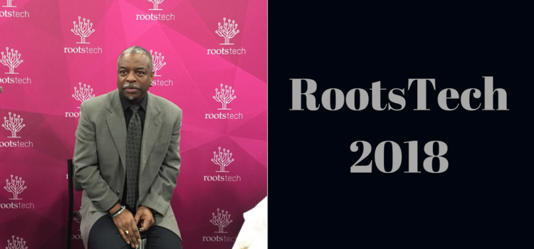 RootsTech 2018 - LeVar Burton was one of the amazing keynote speakers in 2017