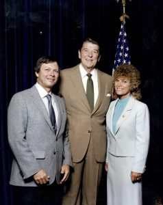 Jim and Norma Kier with Ronald Reagan