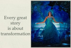 Redemption story - Every great story is about transformation