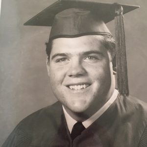 My dad just a few months before that fateful day when Kennedy was killed. He was an 18-year-old impressionable young man.