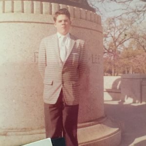 My dad as a freshman in college.