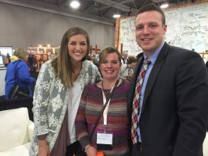 I was a little a star struck to pose with Taysom and Emily Hill at RootsTech. I am not very tall either.