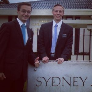 My son Tyler serving in the Sydney South Australia mission. So proud of this kid for his faith and example. Tender mercies have always shined between he and I.