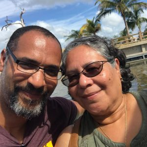 Rene and his mom vacationing. He couldn't know that just he would face death of a mother just two months later.