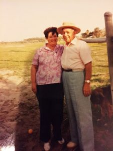 My maternal grandparents who instilled a deep love for Memorial Day and honoring those that went before me.