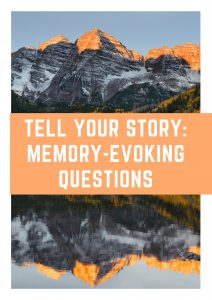 If you want to take Bruce Feiler's advice to develop a family narrative, consider asking your loved ones some of our favorite questions. You can get our free printable book of memory-evoking questions here.