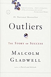 The 10,000-hour rule is outlined  in Outliers by Malcom Gladwell. This is the book cover.