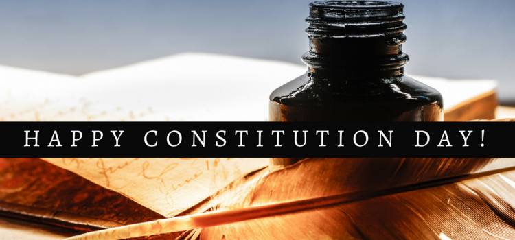 Is Constitution Day personal to you? It is for these 5 people.