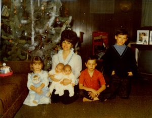 Norma Kier's family. When you read words out loud, it highlights family sensitivities that can be smoothed over in editing before they see it.