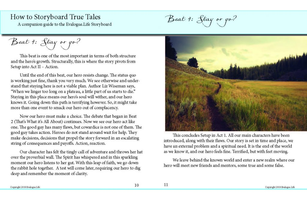 Interior image of How to Storyboard book for writers