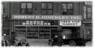 Robert H. Hinckley Inc. - Dodge brothers - photographed from a framed photo at the Hinckley Institute of Politics