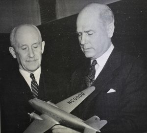 Robert H. Hinckley and Orville Wright - Photo from book the Putt Putt Air Force