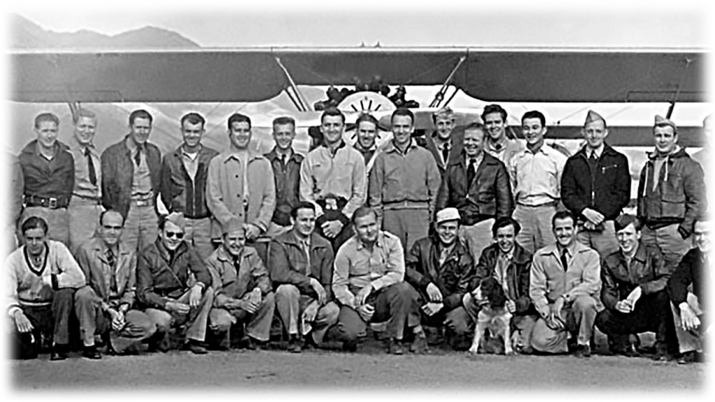 Civilian Pilot Training Program in Ogden. Photo from the Ogden Hinckley Airport powerpoint on the airport's history