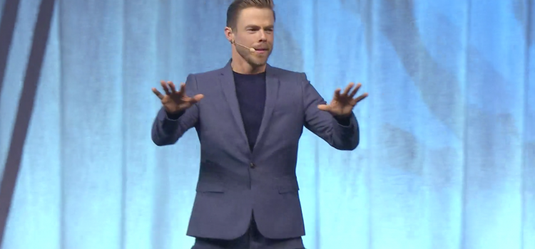 Derek Hough – Telling His Story Through Dance