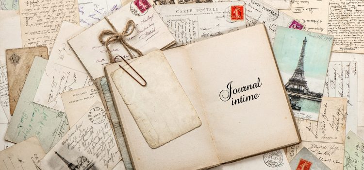 Writing a personal history, journal ideas and why it's important