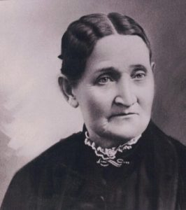 Sarah Peterson was President of the Ephraim Relief Society - photo taken at the Canute Peterson House in Ephraim