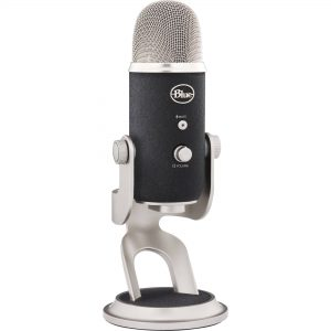 The Blue Yeti is one of the best affordable microphones for narrating videos and recording podcasts.