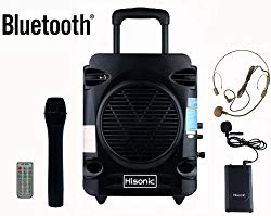 Hisonic portable PA system and microphone
